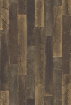 23-024049 Rasch Textil Restored Holzoptik Tapete Vlies dunkelbraun