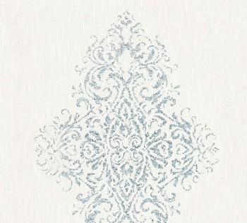 AS Creation Architects Paper Luxury Wallpaper 319451, 8-31945-1 Vliestapete weiß silber