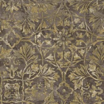 Concetto Rasch Textil 23-109839 Tapete Blumenmuster braun gold