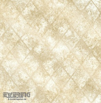 23-022327 Reclaimed Rasch Textil glänzend beige Muster-Tapete