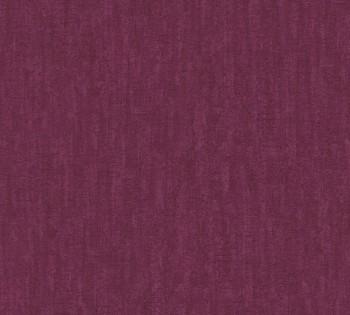33985-2, 339852 Vliestapete Saffiano AS Creation aubergine Uni