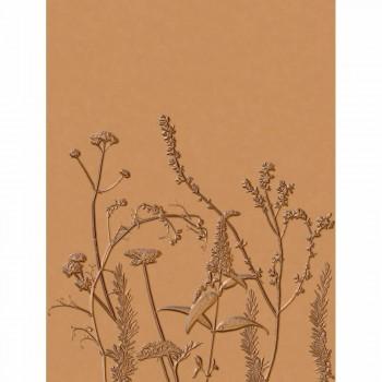 Wandbild Casadeco - Natura 36-NTRA83932485 ecodeco aprikot Blumen