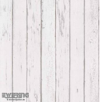 23-362250 Strictly Stripes hell-grau Holzoptik Vinyltapete