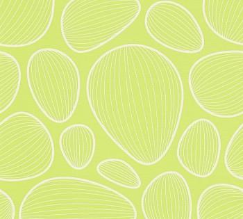 34122-4 Vliestapete Contzen Artist Ed.No.1 AS Creation Muscheln grün