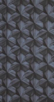 Loft 12-218411 BN/Voca Vliesapete grafisches Muster blau