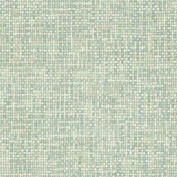 23-148662 Boho Chic Rasch Textil Tapete aquamarinblau Bambusoptik