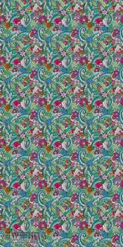 Rasch Textil Cabana 23-158608 Blumen-Mandala bunt Wandbild