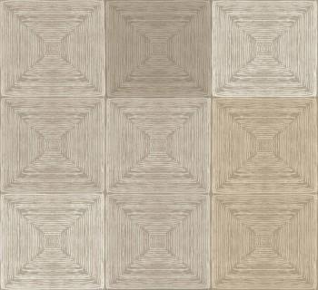 Rasch Textil Ambrosia 23-107652 Vliestapete beige kariert