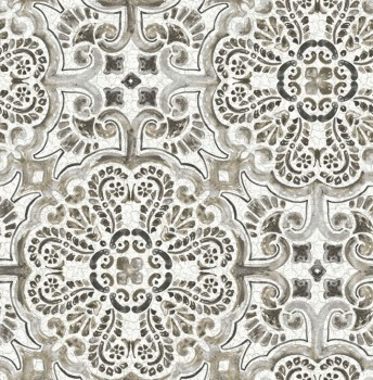 Restored 23-024045 Rasch Textil Ornament Tapete Muster Malerei