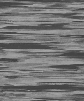 Rasch Textil Capri 23-200727 Vliestapete gestreift grau glänzend