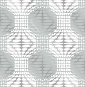 Gravity Rasch Textil 23-022629 Vliestapete Retro silber grau