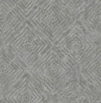 Rasch Textil Restored 23-024003 Vliestapete metallic grau Muster