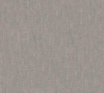 AS Creation Saffiano 33984-6, 339846 melierte Vliestapete warm-grau Uni