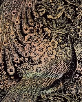 Eijffinger Reflect 55-378000 non-woven wallpaper holografic silver colourful