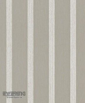 Rasch Textil Liaison 23-077987 Streifentapete Textil dunkel-taupe