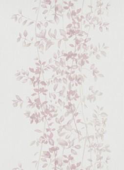 Vliestapete rosa Blätterranken 33-1004705 Fashion for Walls