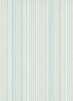 Tapete creme-türkise Streifen 33-1004818 Fashion for Walls