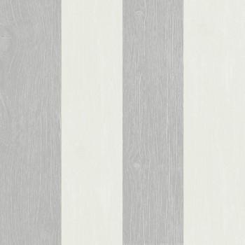 Rasch Textil Skagen 23-021013 Vliestapete grau Streifen Schlafzimmer