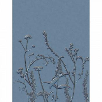 Casadeco - Natura Wandbild ecodeco 36-NTRA83936484 Blumen blau
