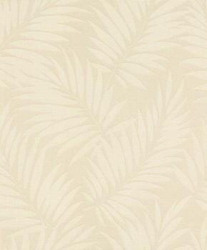 Rasch BARBARA home Vlies-Tapete 7-527544 hell-beige Blätter glänzend