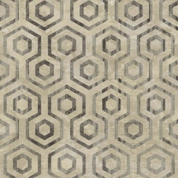 Rasch Textil Concetto 23-109851 Tapete Muster rund taupe