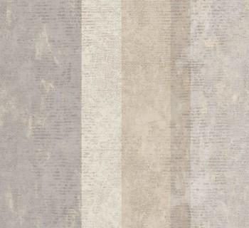 Rasch Textil Ambrosia 23-107631 Streifentapete beige Wohnzimmer