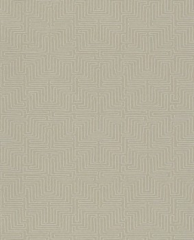 Eijffinger Siroc 55-376064 sand-beige Vliestapete Labyrinth Muster