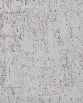 Natural Wallcoverings II Eijffinger 55-389550 silber cognac Korktapete