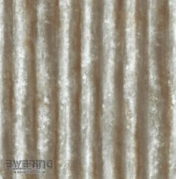 Rasch Textil Reclaimed 23-122335 khakigrün silber Vliestapete