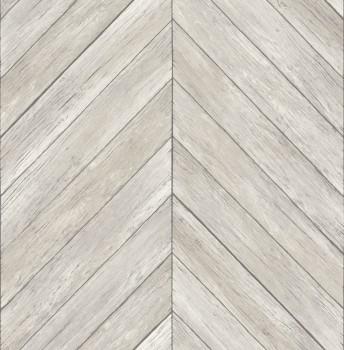 23-024005 Rasch Textil Restored Muster Tapete Holz-Optik beige