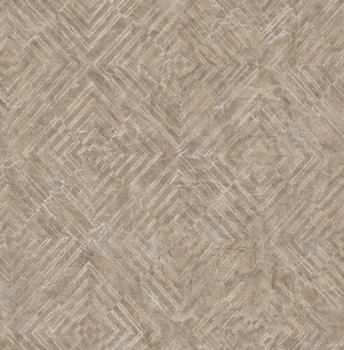 23-024002 Rasch Textil Restored Muster Tapete Vlies braun metallic