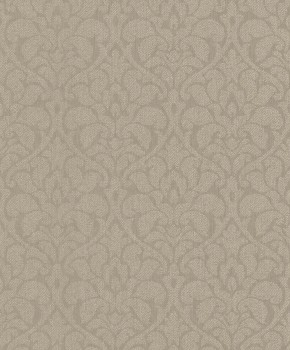 Rasch Textil Velluto 23-075020 Textiltapete braun Esszimmer Ornamente