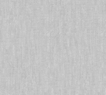 AS Creation Saffiano 33984-3, 339843 meliert Vlies Tapete Uni stein-grau