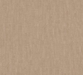 33984-5, 339845 Vliestapete Saffiano AS Creation braun-beige meliert Uni