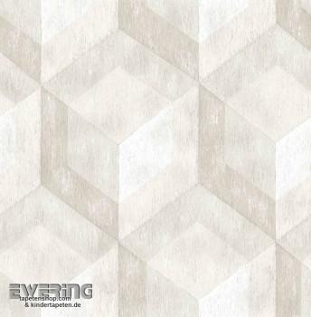 Rasch Textil Reclaimed 23-022308 beige Muster-Tapete Vliesträger