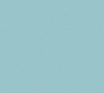 Vliestapete AS Creation Contzen Artist Ed.No.1 34216-3 Uni türkis-blau