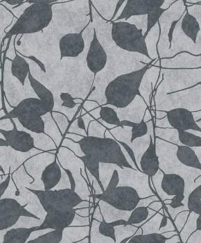 23-109816 Concetto Rasch Textil Vliestapete grau Blumen