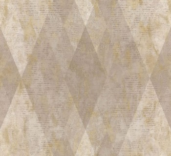 Ambrosia Rasch Textil 23-107624 Tapete Vlies beige Karomuster