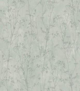 7-802030 Ylvie Rasch Tapete Vlies Wohnzimmer Strauch Blumen grün