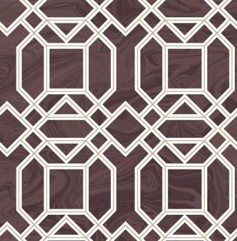 Rasch Textil 23-024223 Gravity Vliestapete bordeaux Retromuster