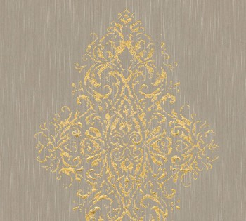 AS Creation Architects Paper Luxury Wallpaper 319453, 8-31945-3 Vliestapete beige gold