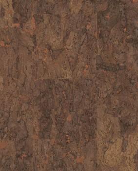 55-389516 Eijffinger Natural Wallcoverings II braun Kupfer Korktapete