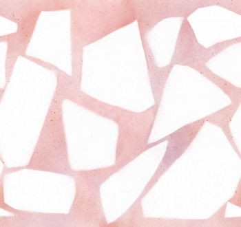 Rosa Wandbild Mosaik-Optik Tenue de Ville SAUDADE 62-SAUD211408
