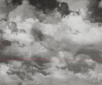 Rot Strich Wandbild Grau Muster Tenue de Ville BALSAM 62-BLD201306