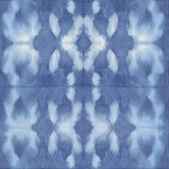 Rasch Textil Boho Chic 23-148685 Batiktapete blau Kinderzimmer