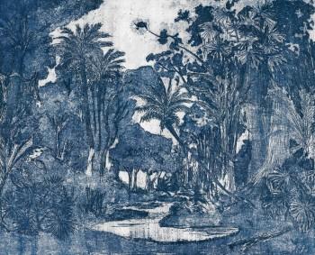 Blau Wandbild Natur Dschungel 62-ODED191415 Tenue de Ville ODE