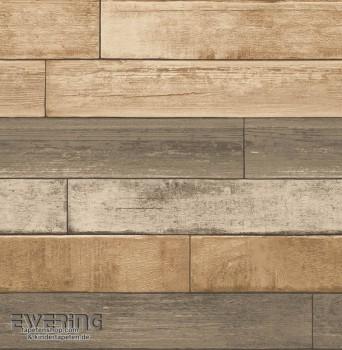 Rasch Textil Reclaimed 23-022346 Vliestapete Holzpaneele braun