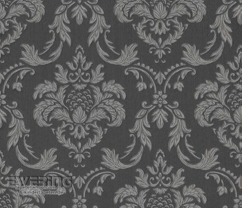 23-078052 Liaison Rasch Textil dunkel-braun Textiltapete Ornament
