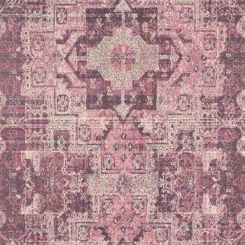 Boho Chic Rasch Textil 23-148657 Tapete Grafikmuster aubergine