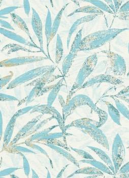 Erismann Sevilla 33-5984-08, 598408 Vliestapete blau Wohnzimmer